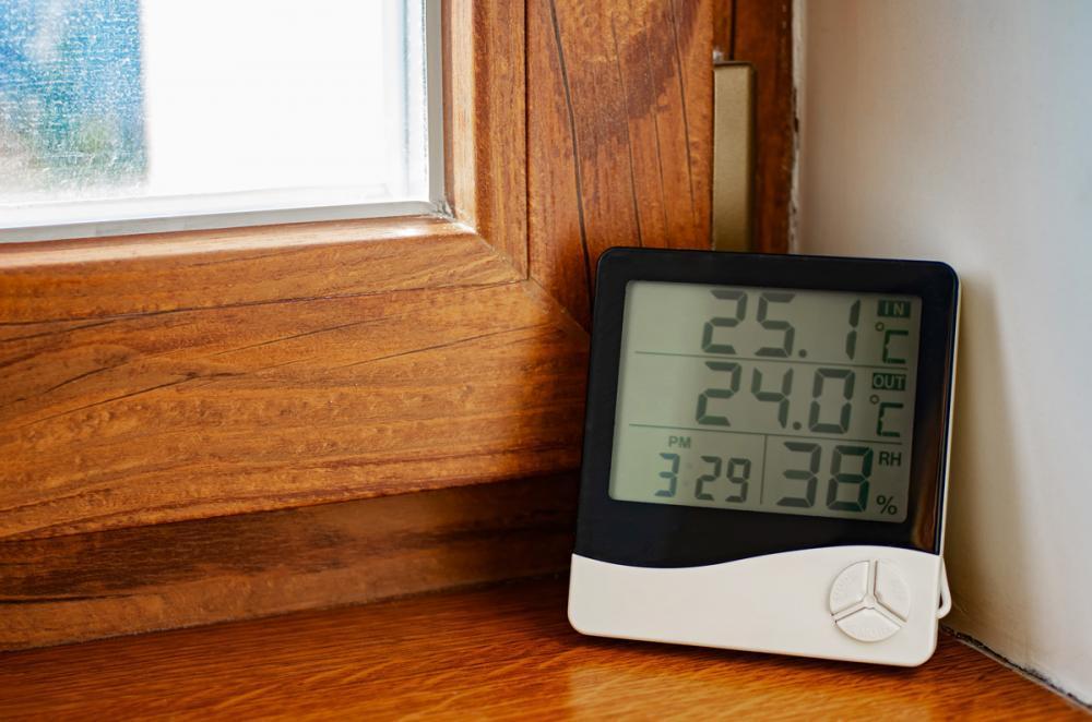 la estación meteorologica te ayudará a controlar los niveles de humedad de tu vivienda u oficina