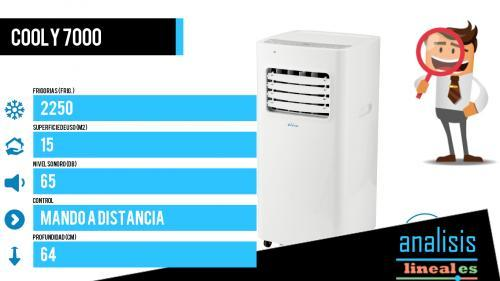 Cooly 7000, un aire acondicionado portatil de 7000 btu para tu hogar