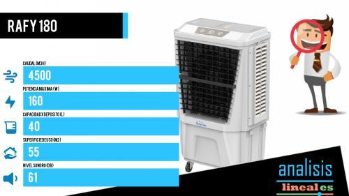 climatizador evaporativo industrial resistente