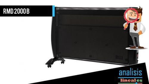 Radiador de mica RMD 2000B, un producto programable