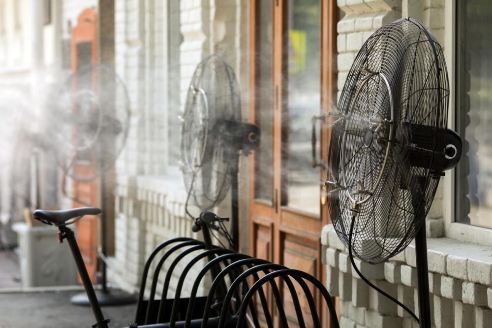 refresca el ambiente de tu hogar o terraza con la brisa que te ofrece un nebulizador