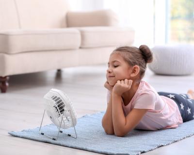 El ventilador es la solución económica para combatir los efectos del calor